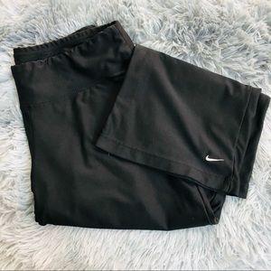 Nike Fit Dry Capri Length Active Pants Black
